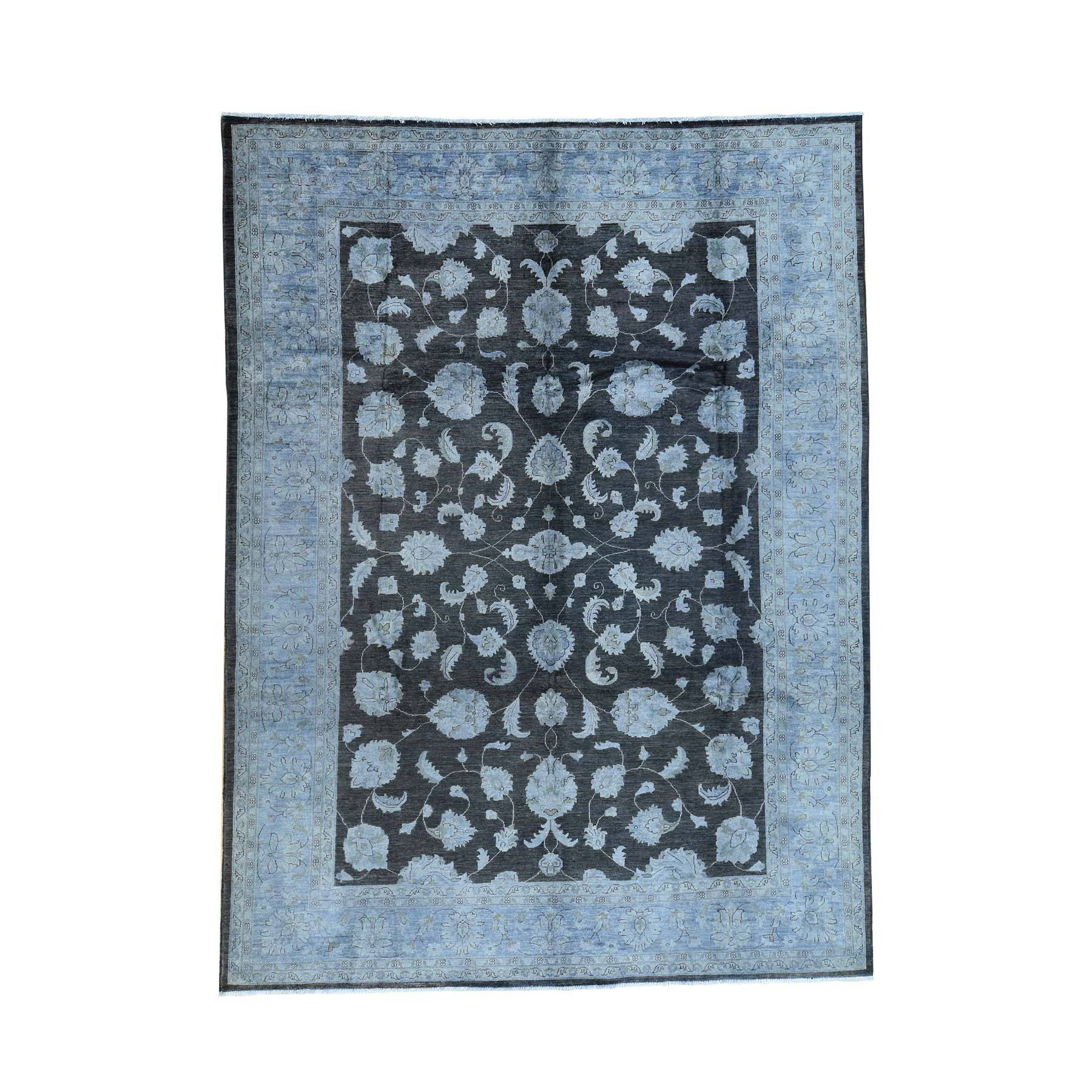 "Handmade Overdyed & Vintage Rectangle Rug > Design# SH31965 > Size: 9'-0"" x 12'-0"" [ONLINE ONLY]"