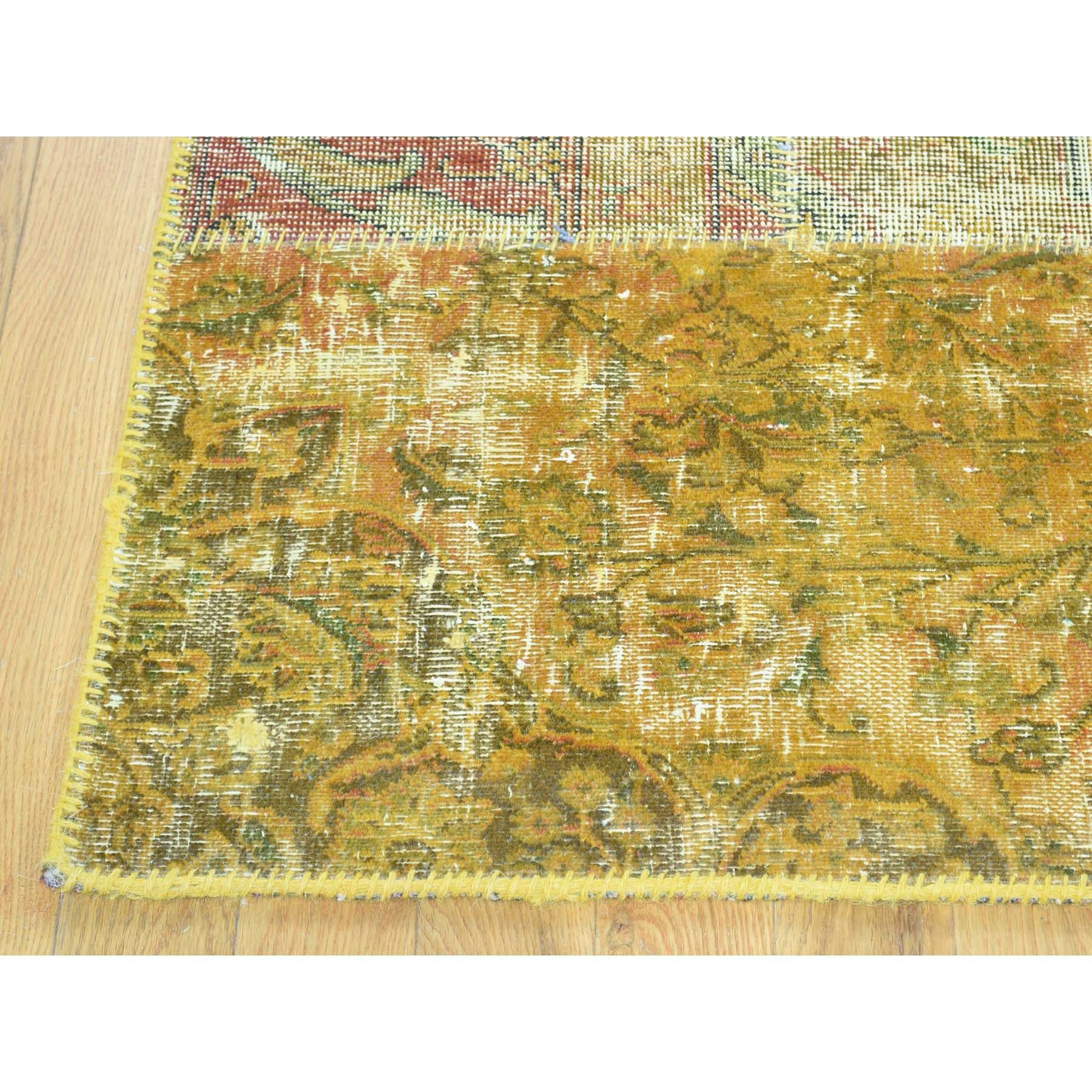 "Handmade Overdyed & Vintage Rectangle Rug > Design# SH31976 > Size: 5'-1"" x 8'-0"" [ONLINE ONLY]"