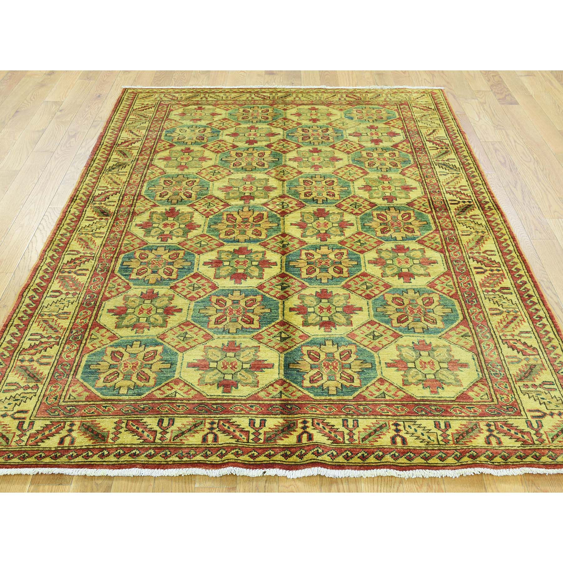"Handmade Overdyed & Vintage Rectangle Rug > Design# SH31987 > Size: 4'-9"" x 6'-7"" [ONLINE ONLY]"