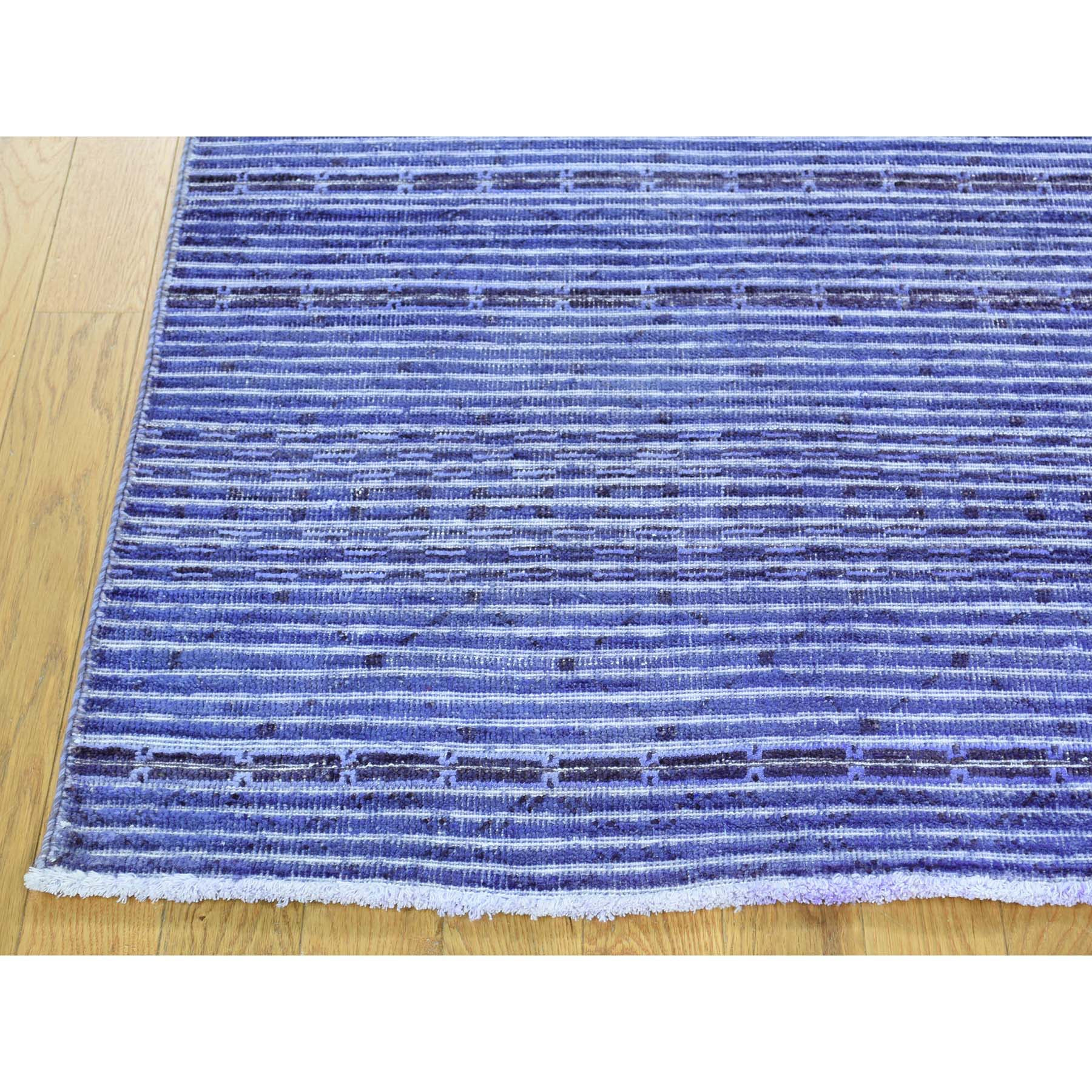 "Handmade Modern and Contemporary Rectangle Rug > Design# SH31992 > Size: 5'-5"" x 7'-9"" [ONLINE ONLY]"