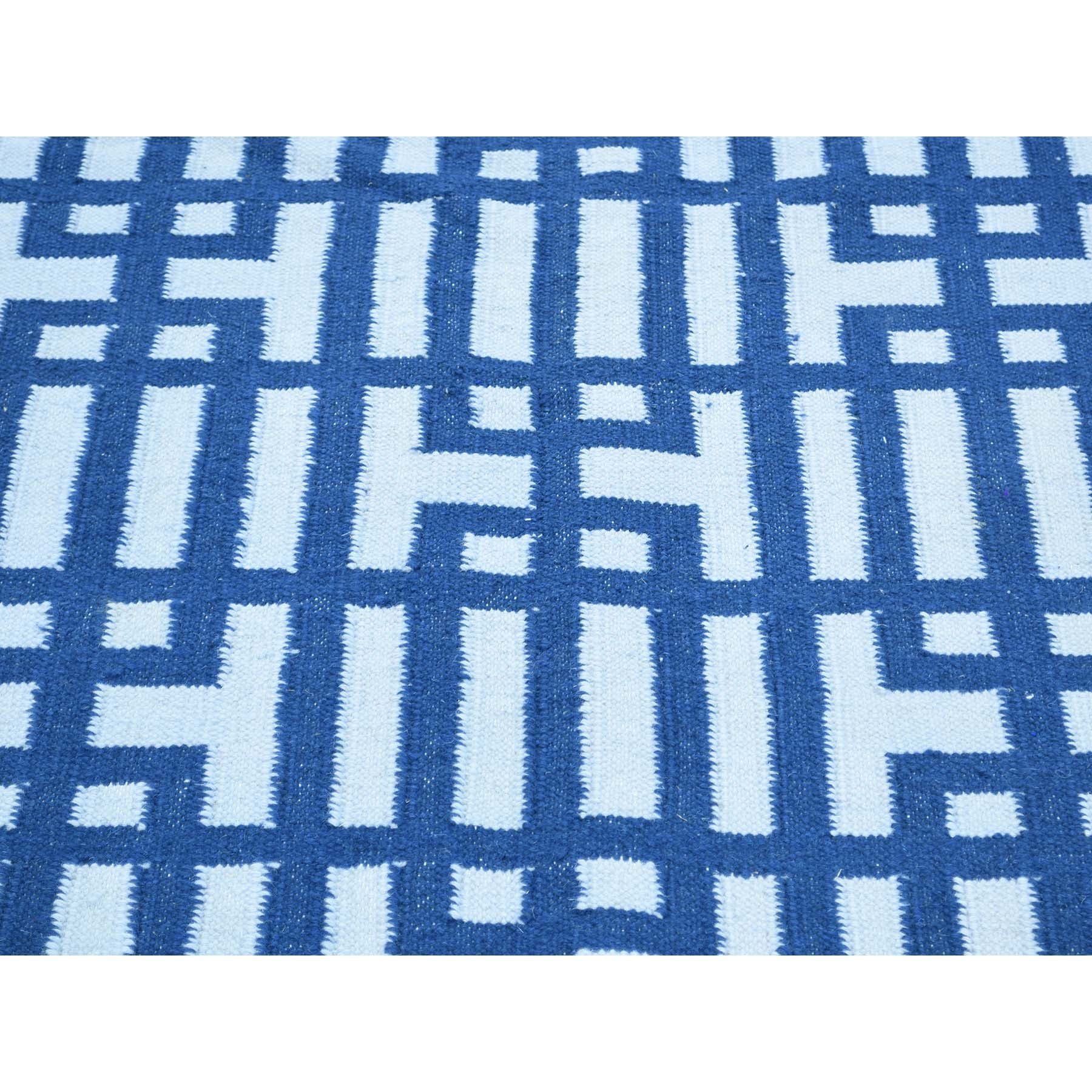 "Handmade Flat Weave Rectangle Rug > Design# SH32081 > Size: 5'-2"" x 7'-0"" [ONLINE ONLY]"