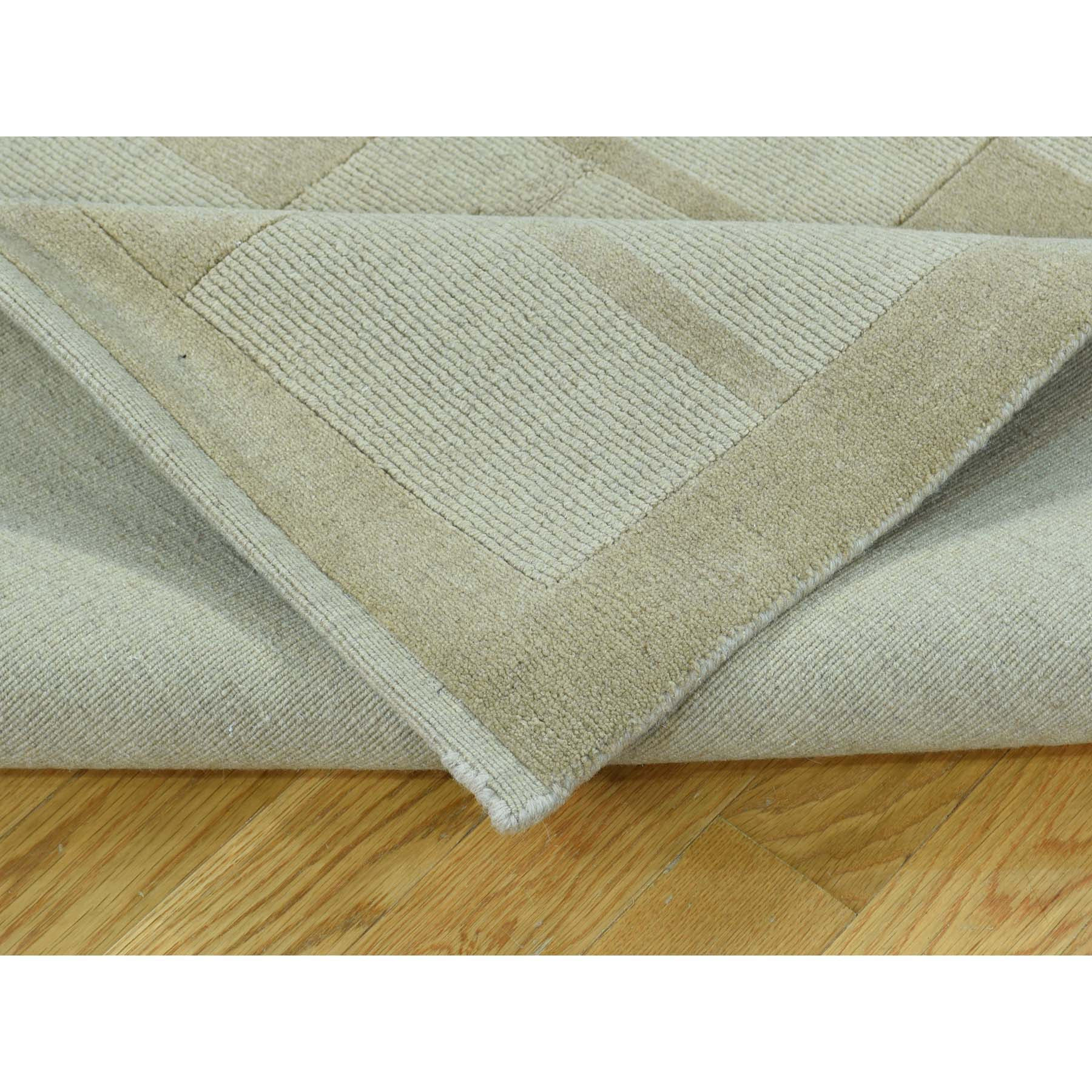 "Handmade Modern and Contemporary Rectangle Rug > Design# SH32276 > Size: 5'-0"" x 8'-2"" [ONLINE ONLY]"
