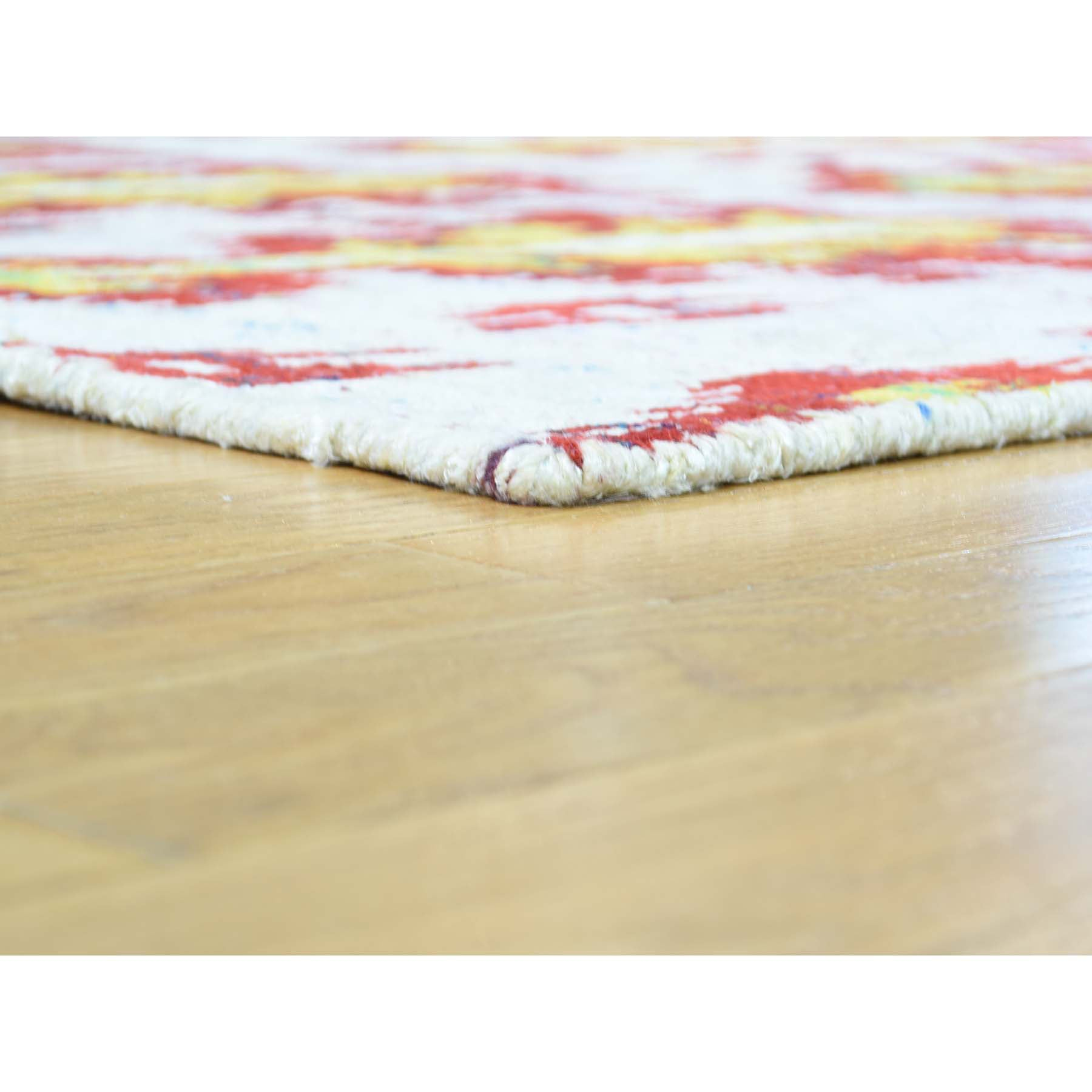 "Handmade Modern and Contemporary Rectangle Rug > Design# SH32384 > Size: 9'-0"" x 12'-1"" [ONLINE ONLY]"
