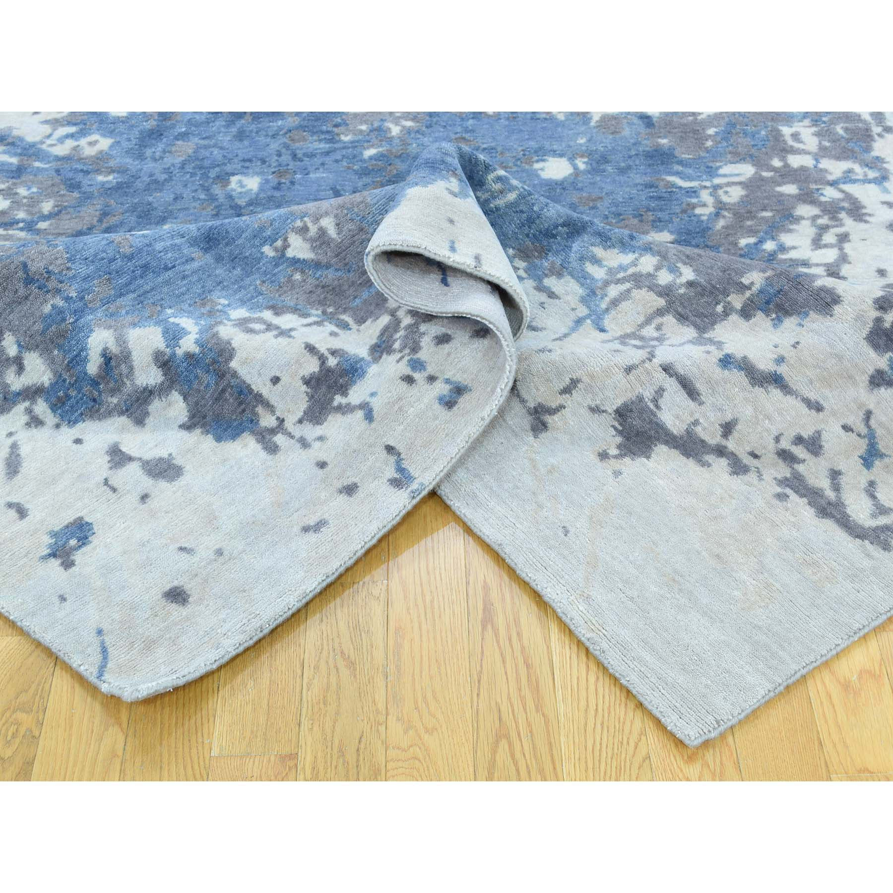 "Handmade Modern and Contemporary Rectangle Rug > Design# SH32576 > Size: 6'-0"" x 9'-0"" [ONLINE ONLY]"