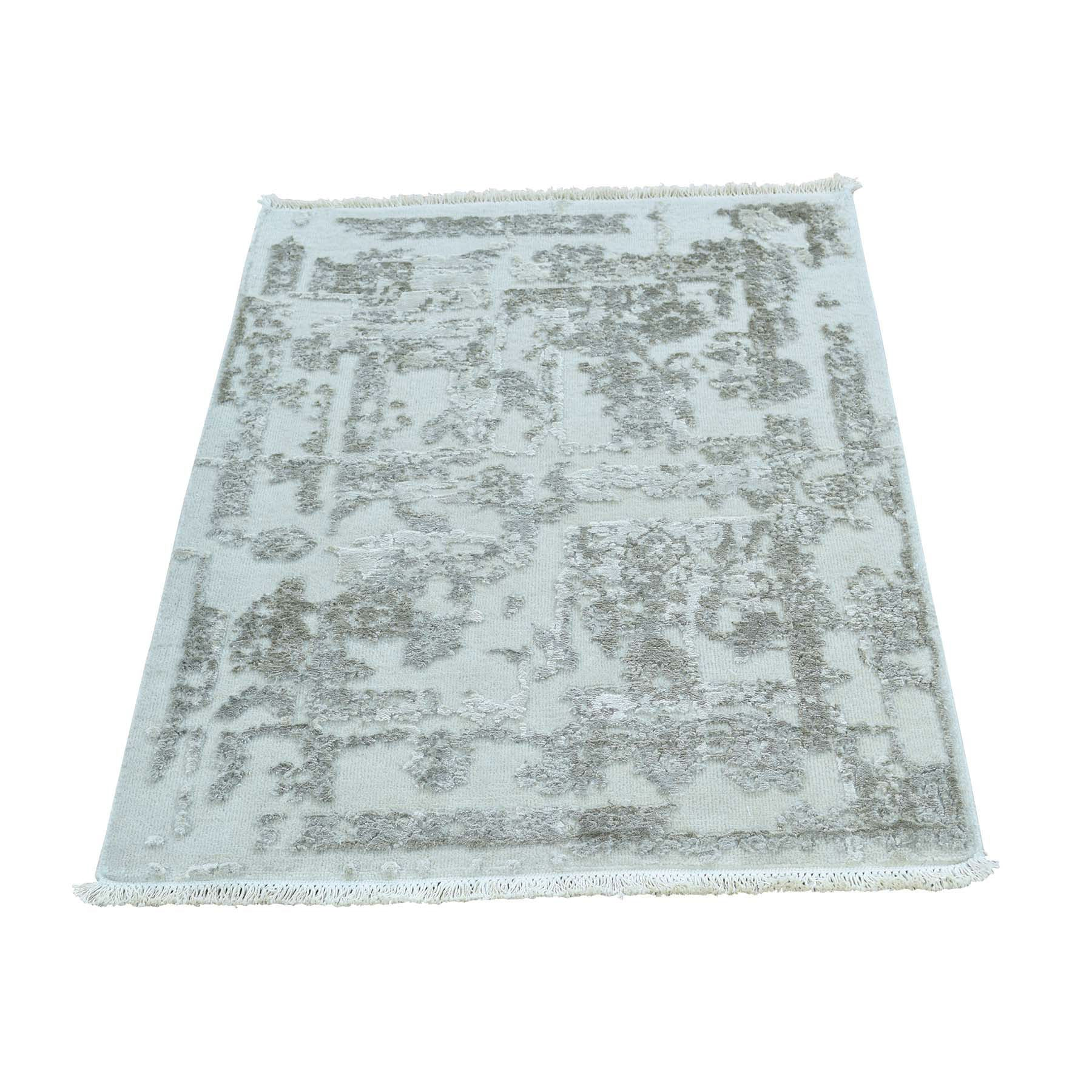 "Handmade Transitional Rectangle Rug > Design# SH34948 > Size: 2'-0"" x 3'-0"" [ONLINE ONLY]"