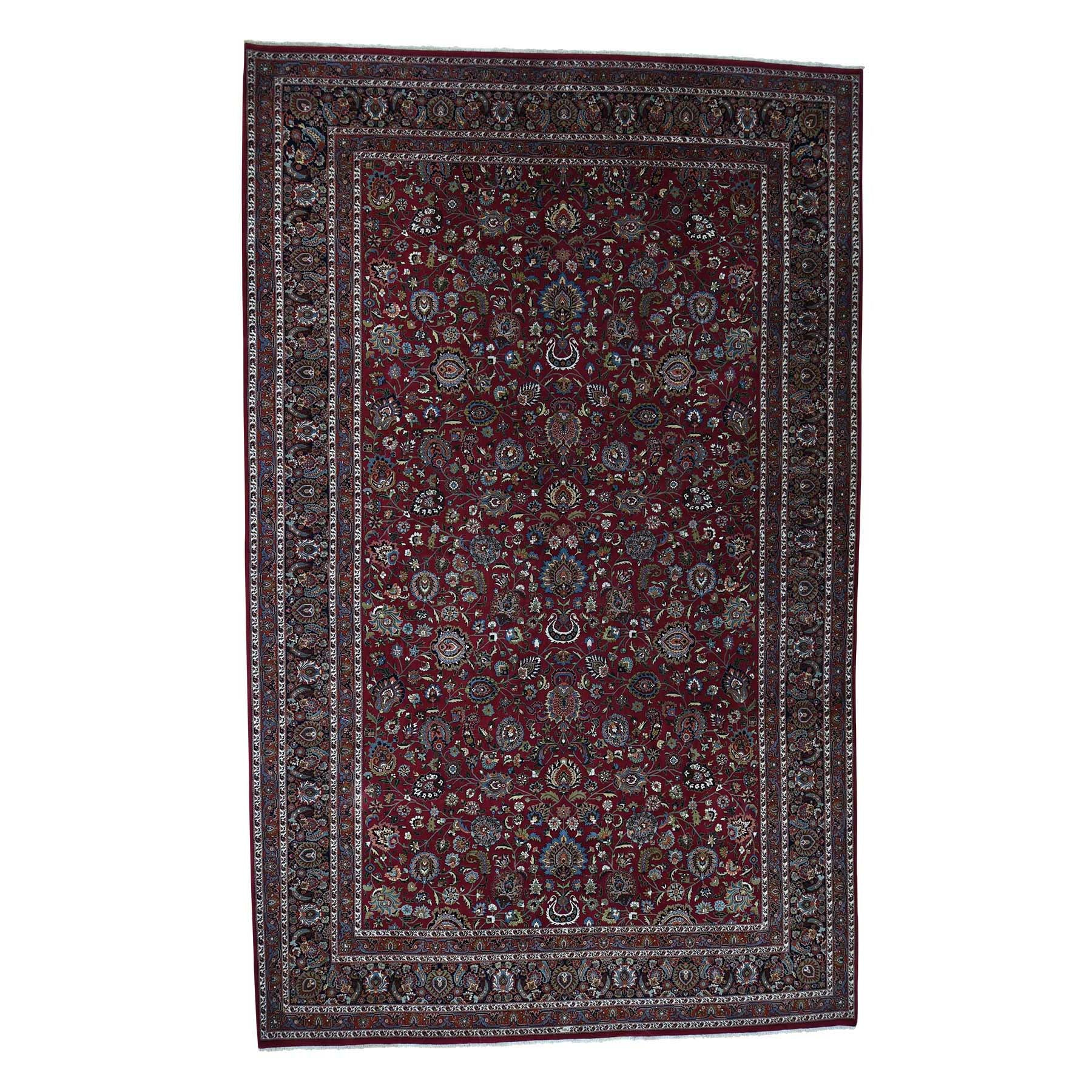 "Handmade Persian Rectangle Rug > Design# SH40206 > Size: 12'-0"" x 19'-0"" [ONLINE ONLY]"