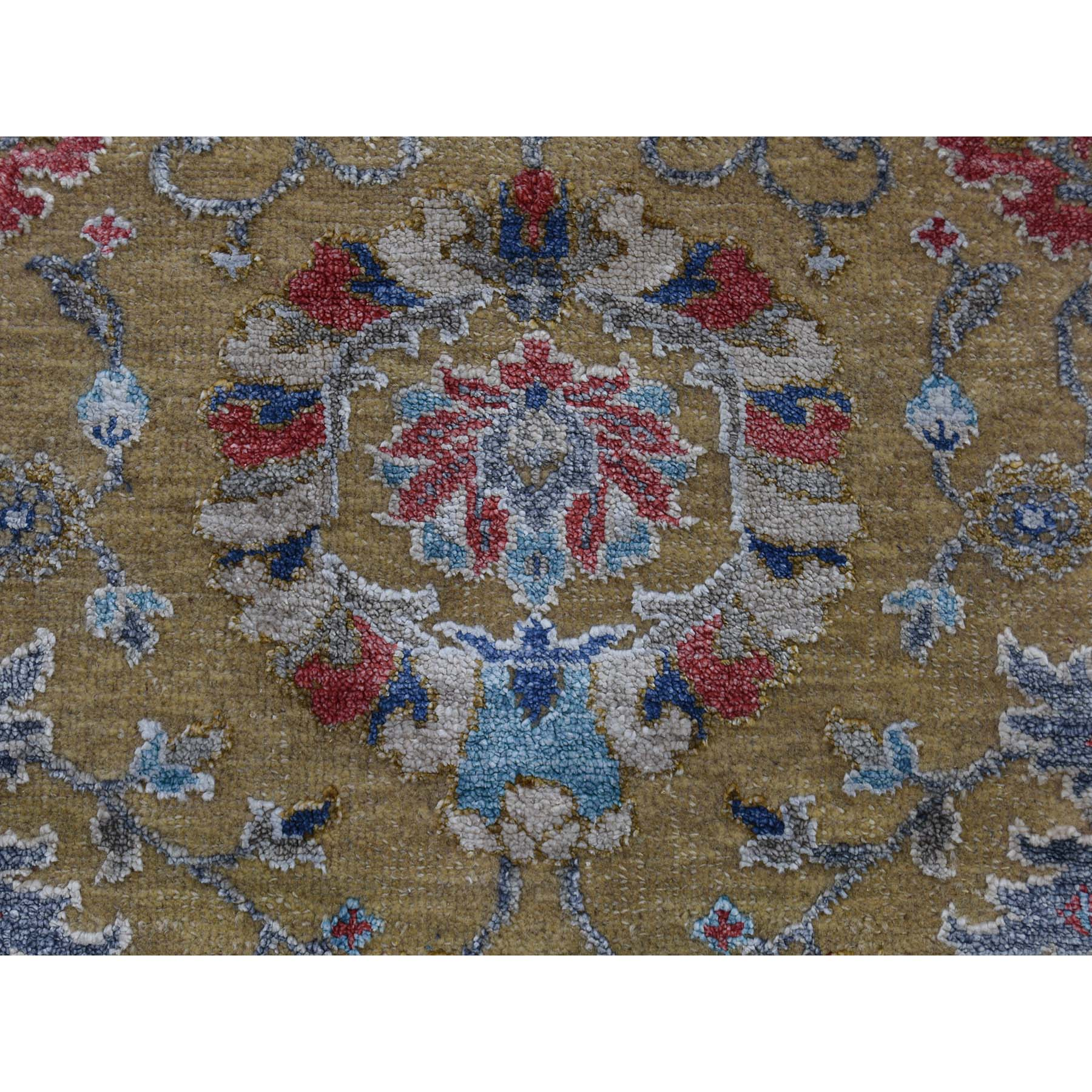 "Handmade Wool and Silk Rectangle Rug > Design# SH41842 > Size: 8'-1"" x 9'-7"" [ONLINE ONLY]"