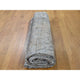 "Handmade White Wash Vintage & Silver Wash Rectangle Rug > Design# SH42136 > Size: 10'-4"" x 13'-8"" [ONLINE ONLY]"