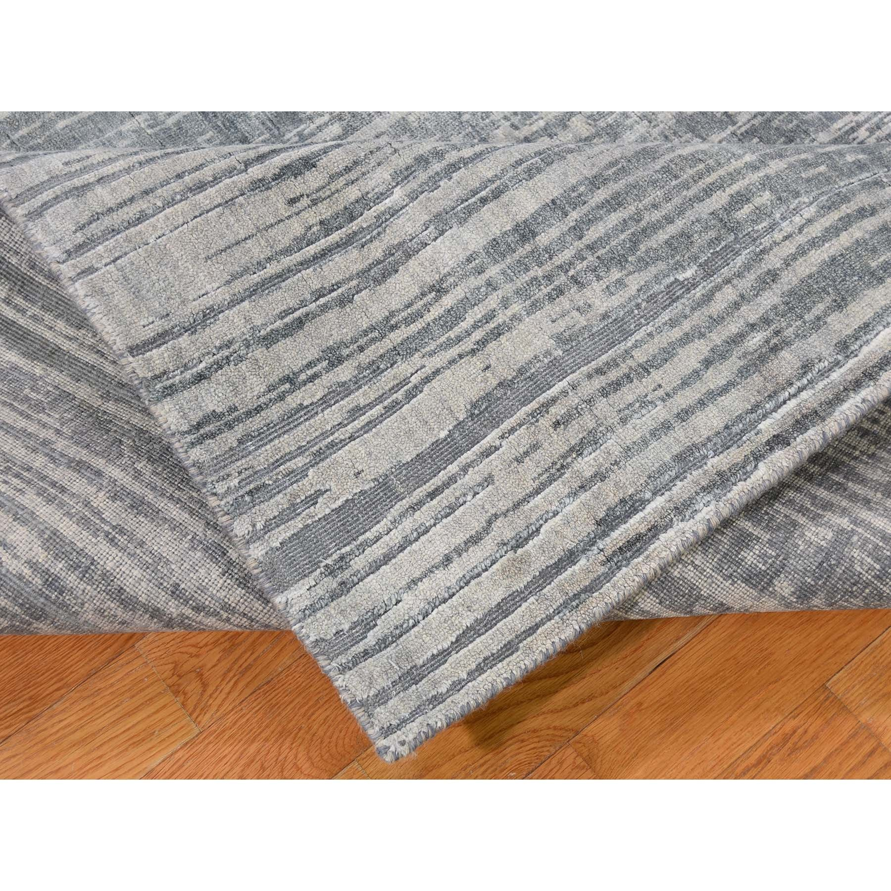 "Handmade Modern and Contemporary Rectangle Rug > Design# SH43411 > Size: 8'-0"" x 10'-4"" [ONLINE ONLY]"