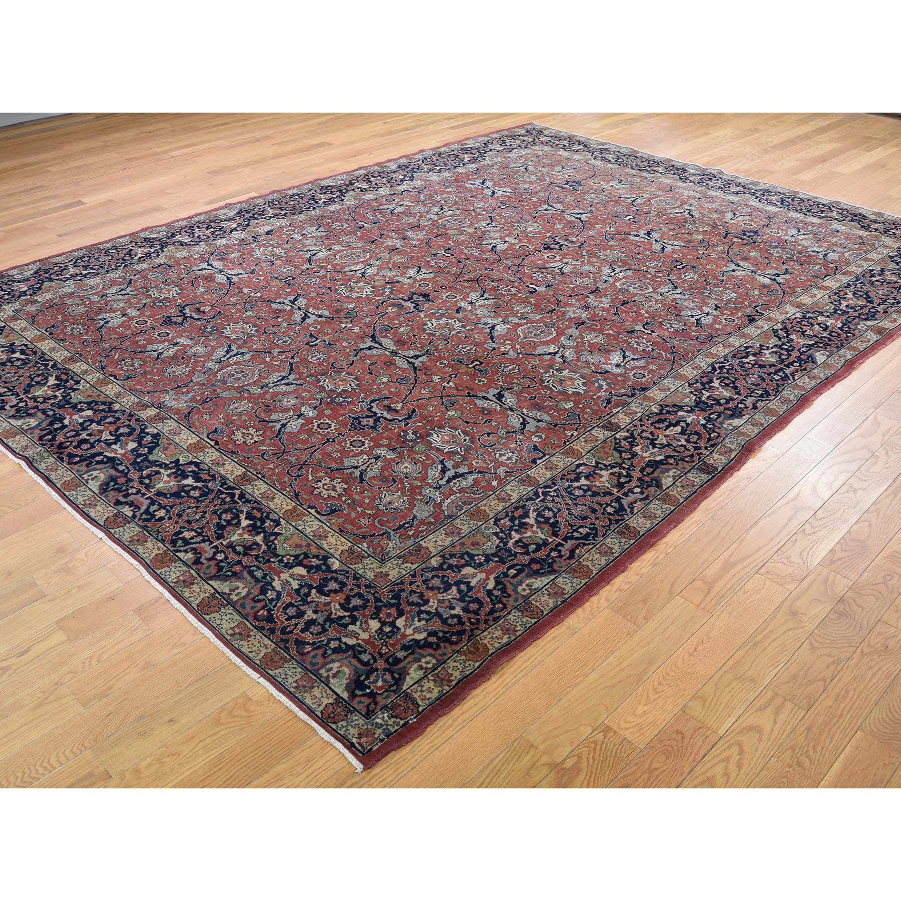 "Handmade Antique Rectangle Rug > Design# SH44873 > Size: 8'-4"" x 11'-0"" [ONLINE ONLY]"