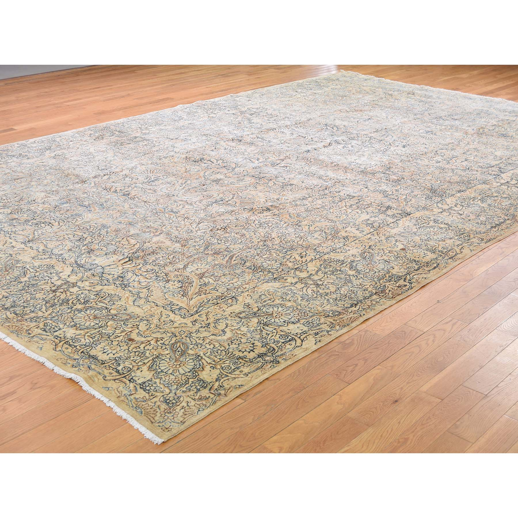 "Handmade Antique Rectangle Rug > Design# SH45128 > Size: 9'-8"" x 14'-10"" [ONLINE ONLY]"