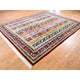 "Handmade Tribal & Geometric Rectangle Rug > Design# SH45338 > Size: 8'-0"" x 10'-0"" [ONLINE ONLY]"