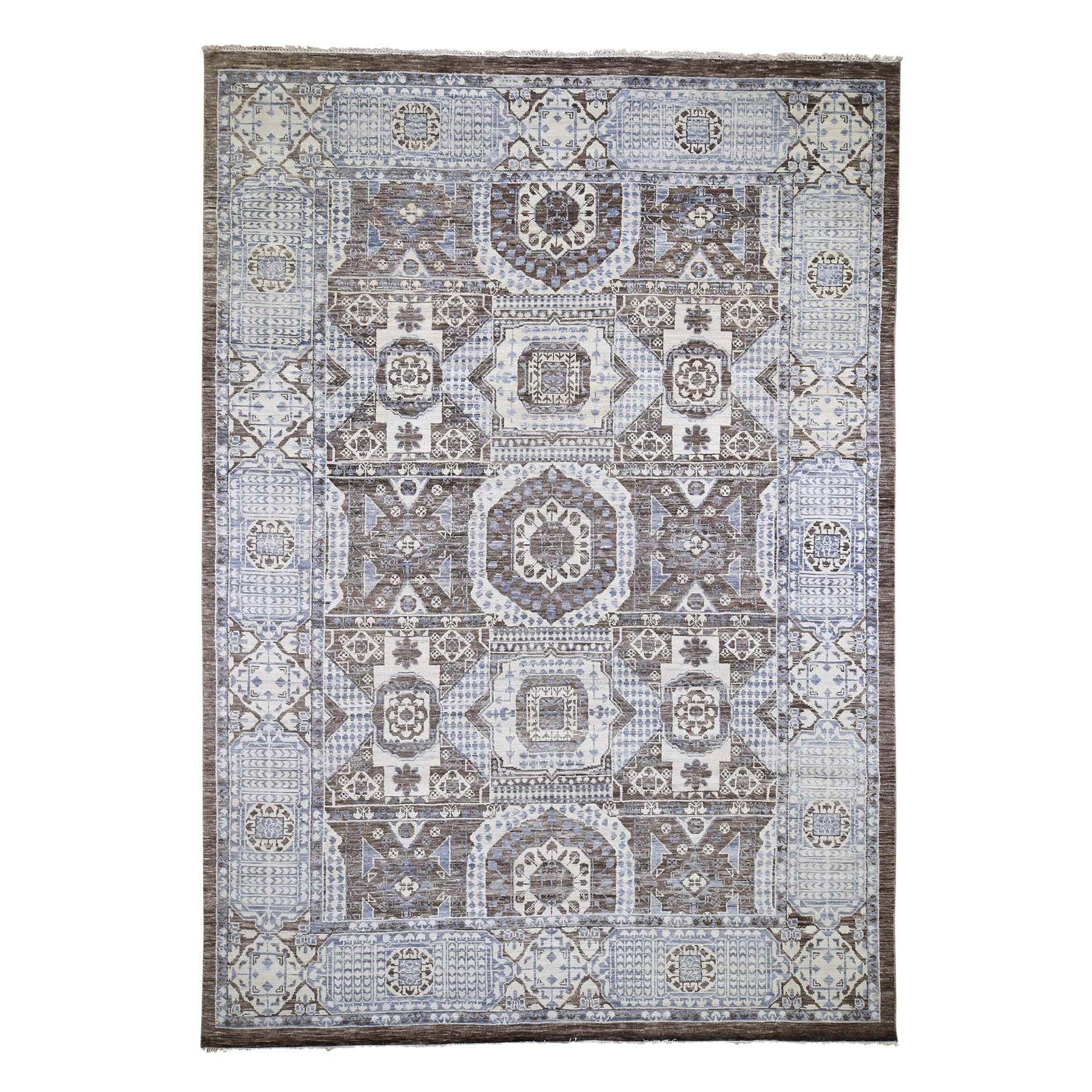 "Handmade Mamluk Rectangle Rug > Design# SH45892 > Size: 10'-2"" x 14'-5"" [ONLINE ONLY]"