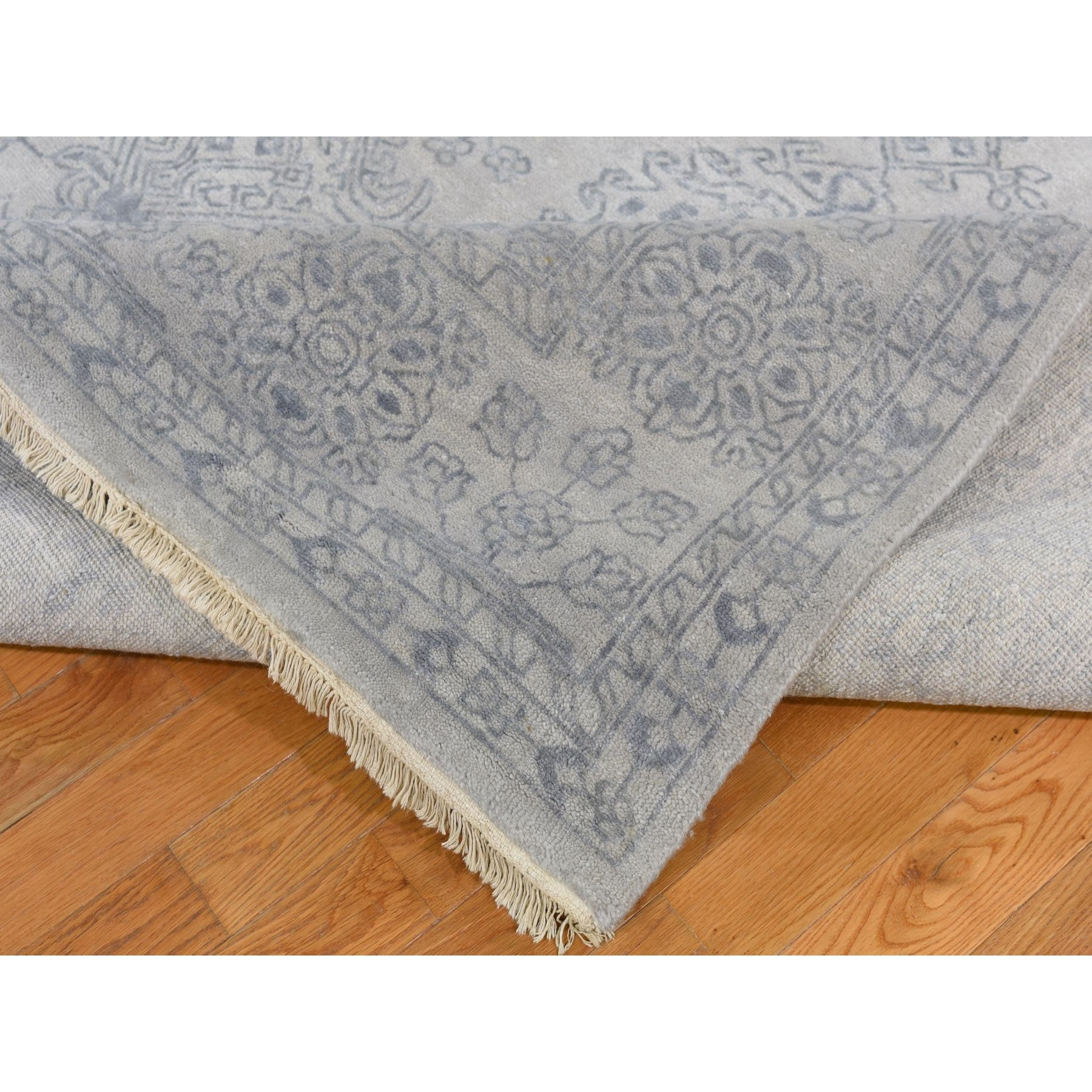 "Handmade Oushak And Peshawar Rectangle Rug > Design# SH47219 > Size: 8'-9"" x 11'-10"" [ONLINE ONLY]"