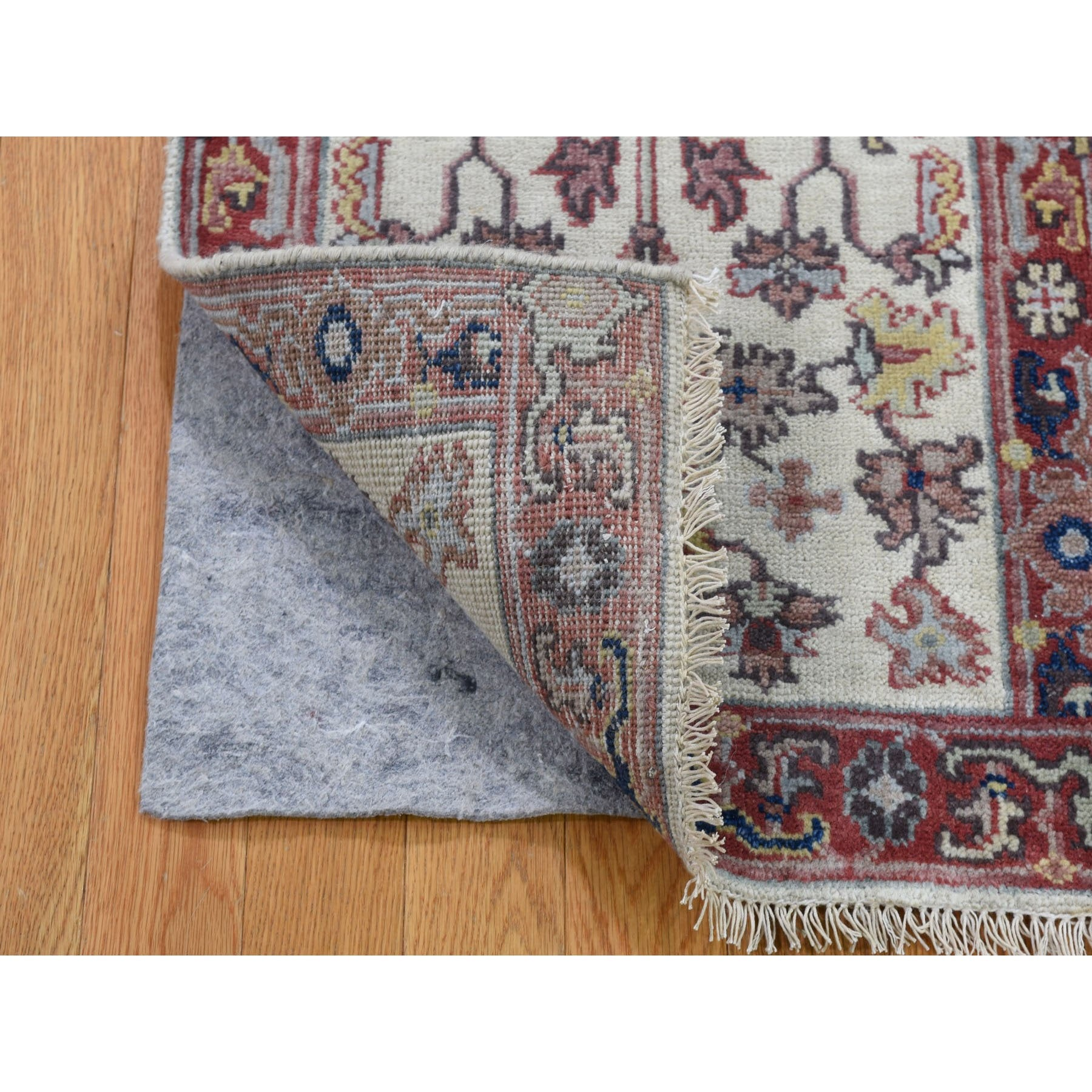 "Handmade Heriz Rectangle Rug > Design# SH47344 > Size: 1'-10"" x 3'-0"" [ONLINE ONLY]"