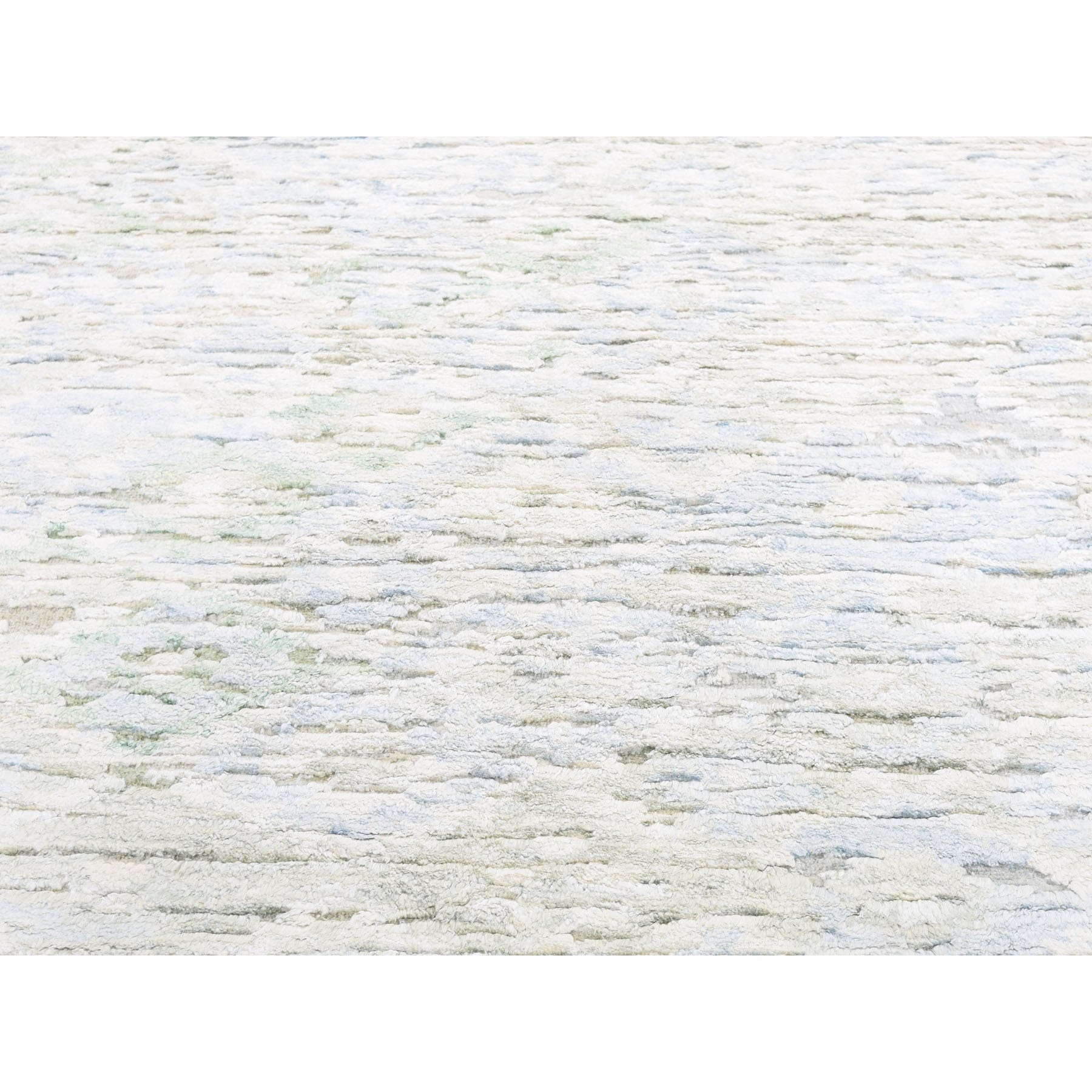 "Handmade Modern and Contemporary Rectangle Rug > Design# SH47494 > Size: 8'-9"" x 11'-10"" [ONLINE ONLY]"
