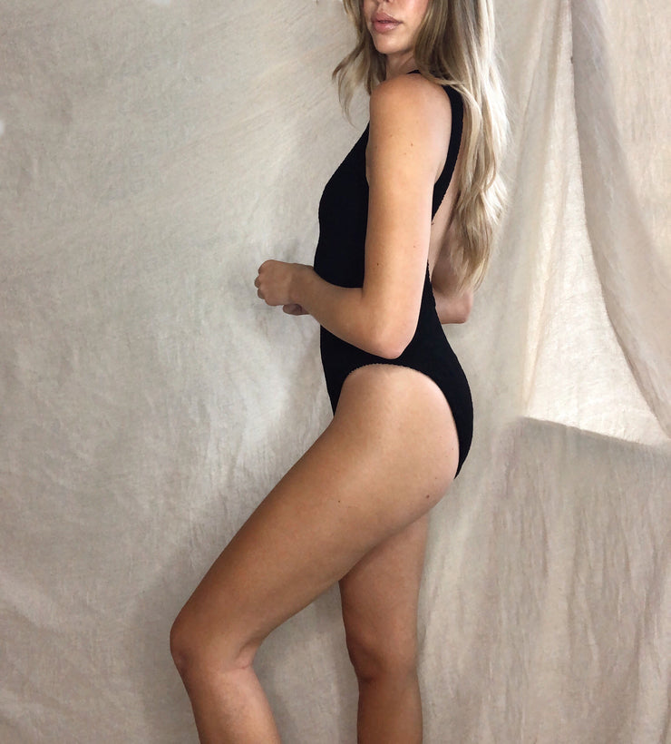 San Fran One Piece - Black
