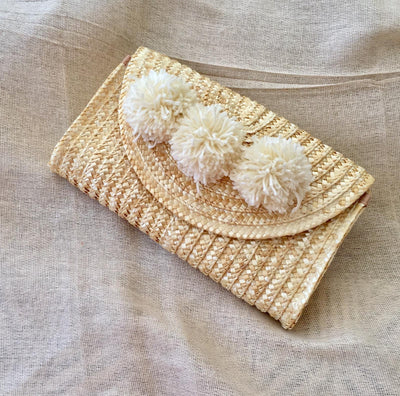Siena Clutch - Cream