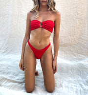 Miami Bandeau - Red