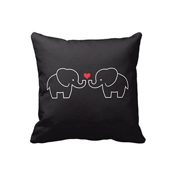 Elephant Love Pillow