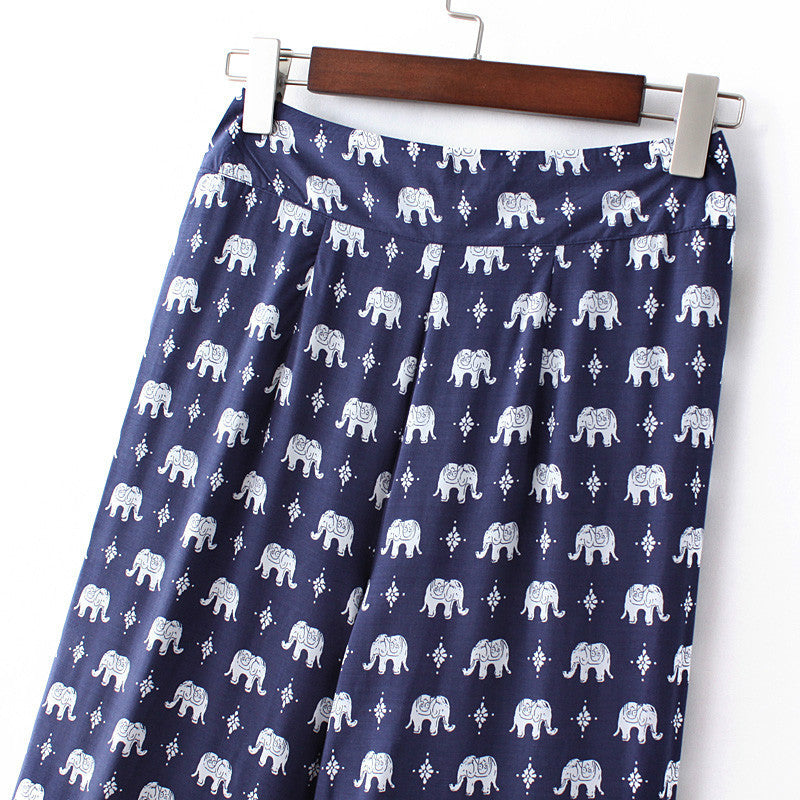 Paisley Elephant Pants