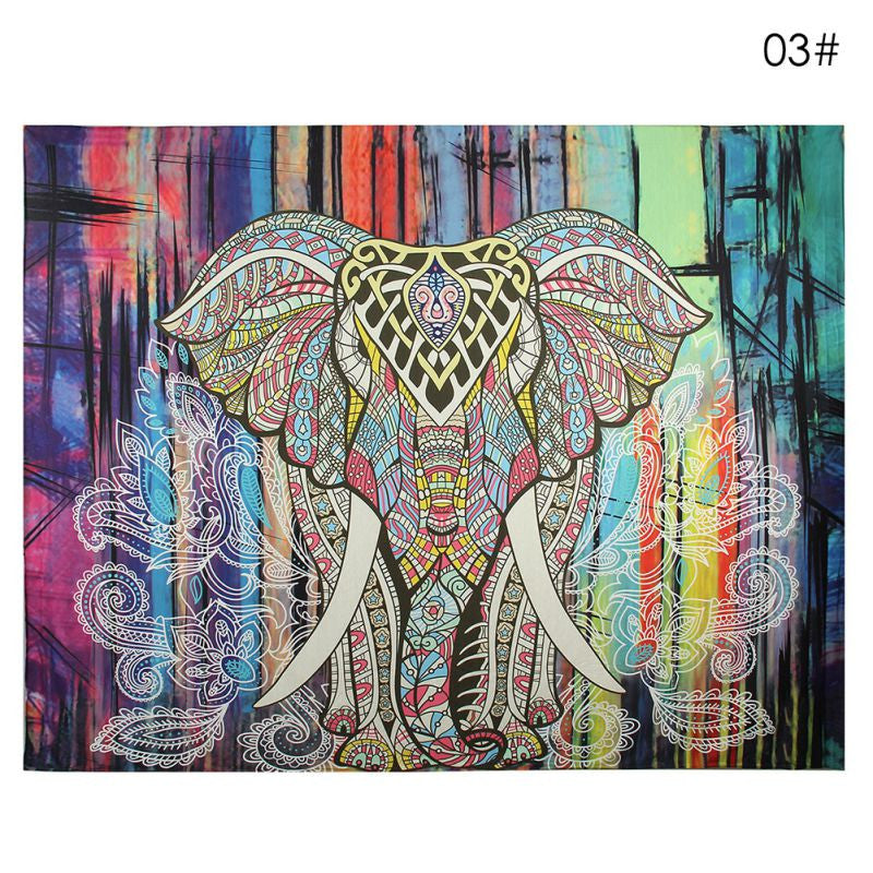 Sweet Elephant Tapestry