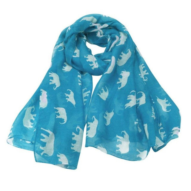 Fashion Elephant Scarf
