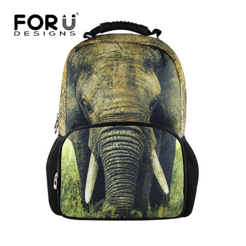 17 inch Elephant Backpack