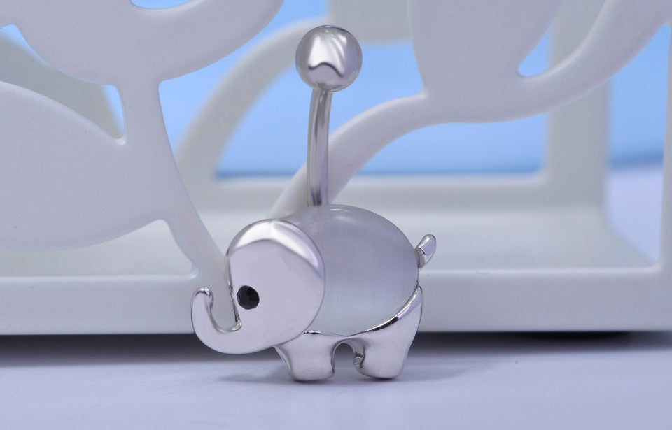 Belly Button Elephant Jewel