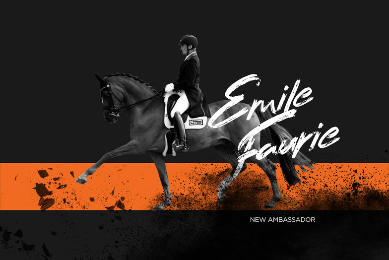 Emile Faurie joins Incrediwear Equine