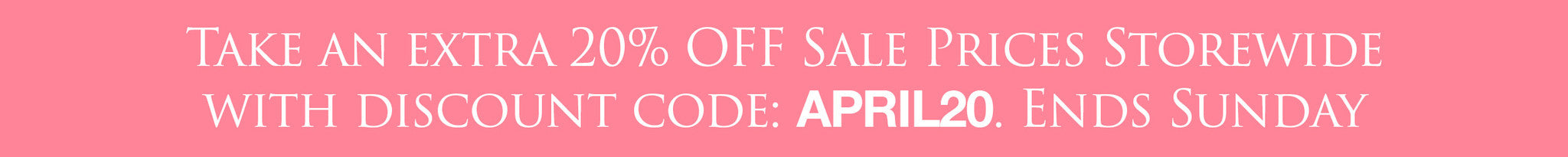 Use code APRIL20 for 20% OFF Sale Prices on all Photoshop Actions and Lightroom Presets