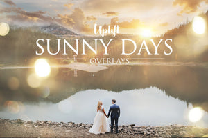 Sunny Days Sunflare Collection - Uplift Photoshop Actions, Photoshop Overlays and Lightroom Presets