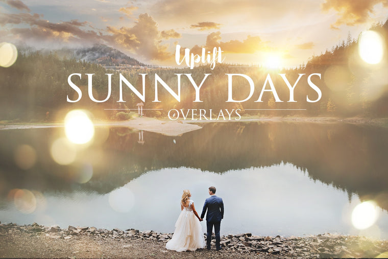 Sunny Days Sunflare Collection • 50% OFF! - Uplift Photoshop Actions, Photoshop Overlays and Lightroom Presets