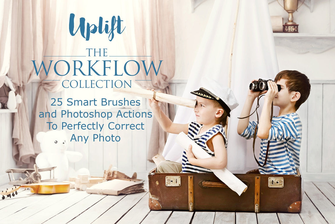 Uplift Workflow Photoshop Action Collection - Uplift Photoshop Actions