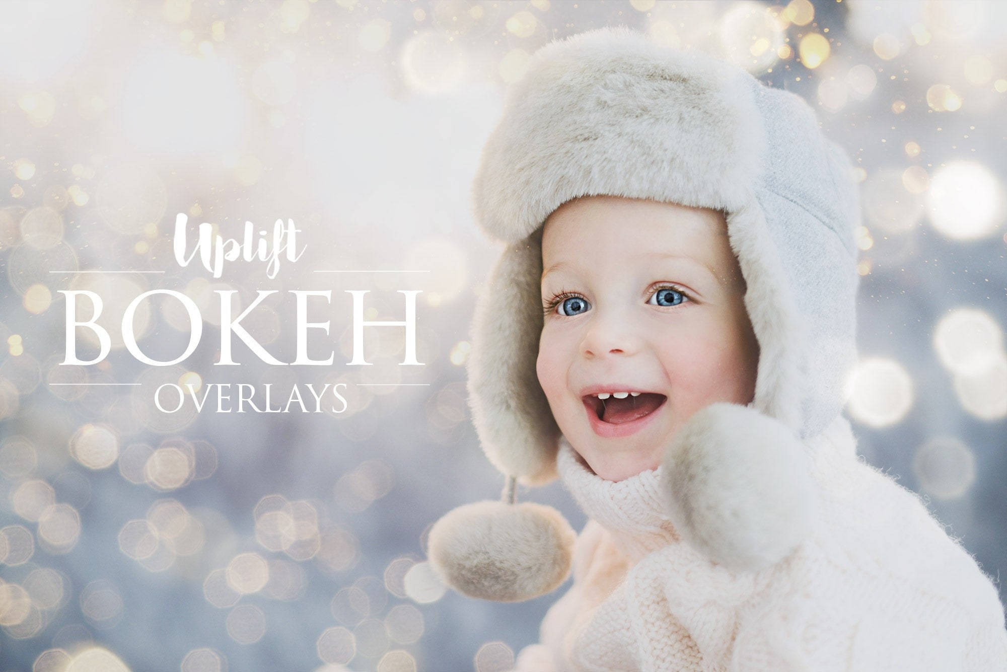 Bokeh overlays collection uplift photoshop actions photoshop overlays and lightroom presets
