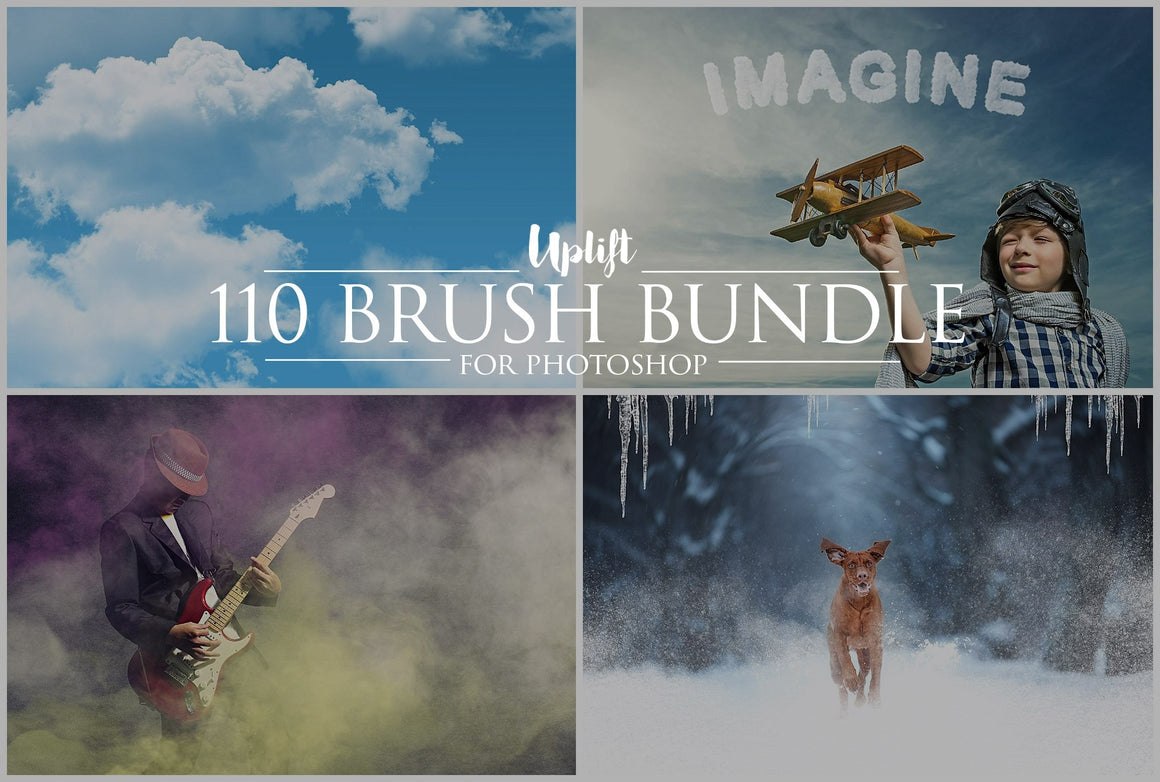 110 Brush Bundle for Photoshop