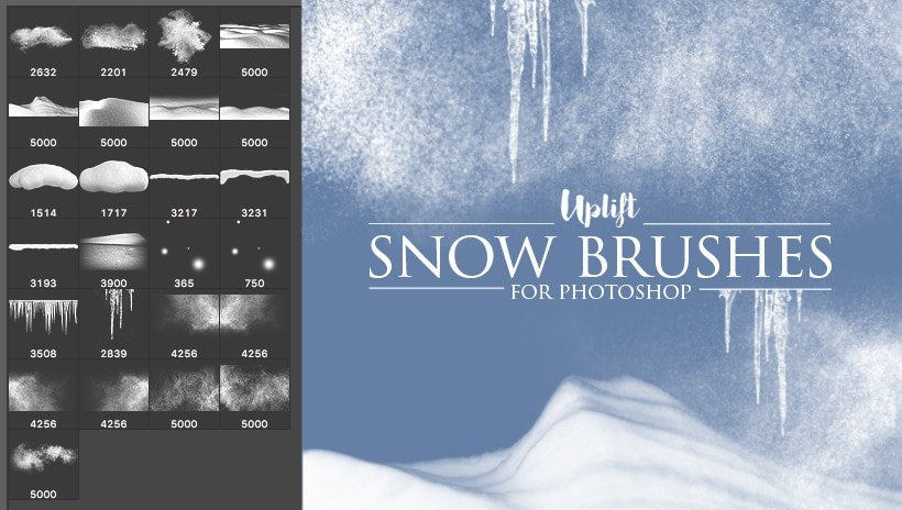 Christmas brushes photoshop cs6 free download