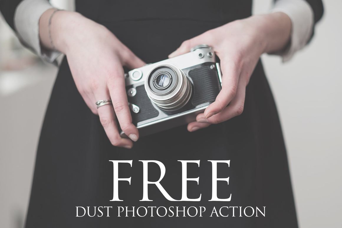 Dust Photoshop Action: FREE - Uplift Photoshop Actions, Photoshop Overlays and Lightroom Presets