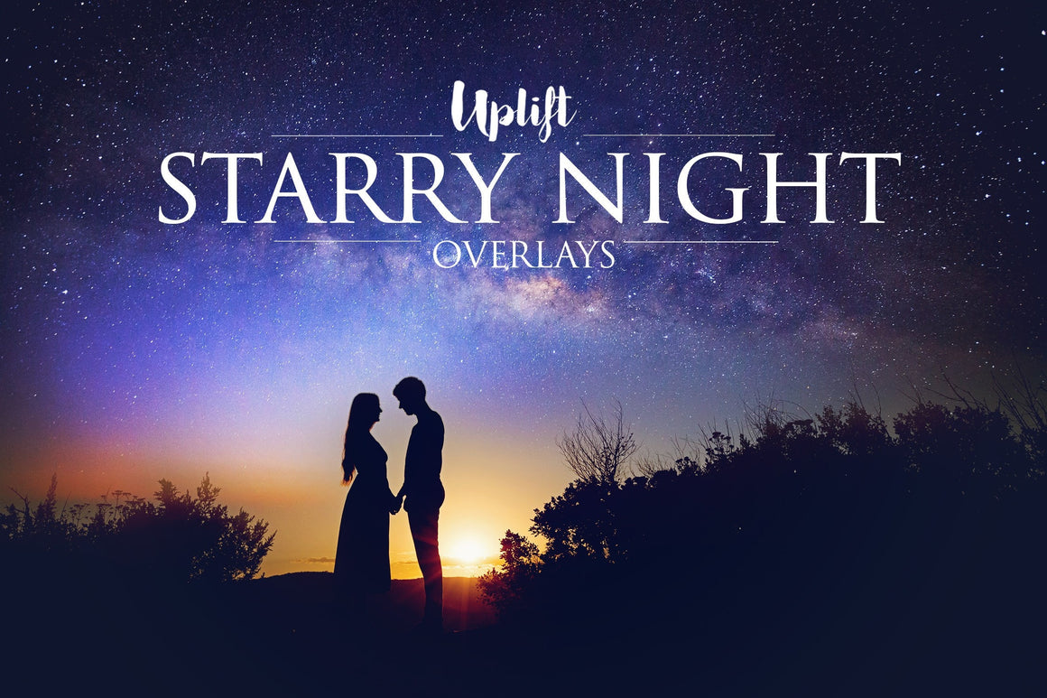 NEW! Starry Night Overlays • 50% OFF!