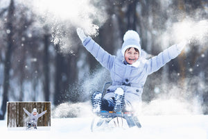 25 Snow Brushes for Photoshop - Uplift Photoshop Actions, Photoshop Overlays and Lightroom Presets