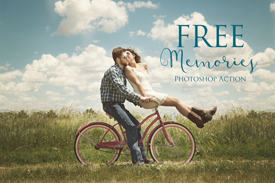 Memories Photoshop Action: FREE - Uplift Photoshop Actions, Photoshop Overlays and Lightroom Presets