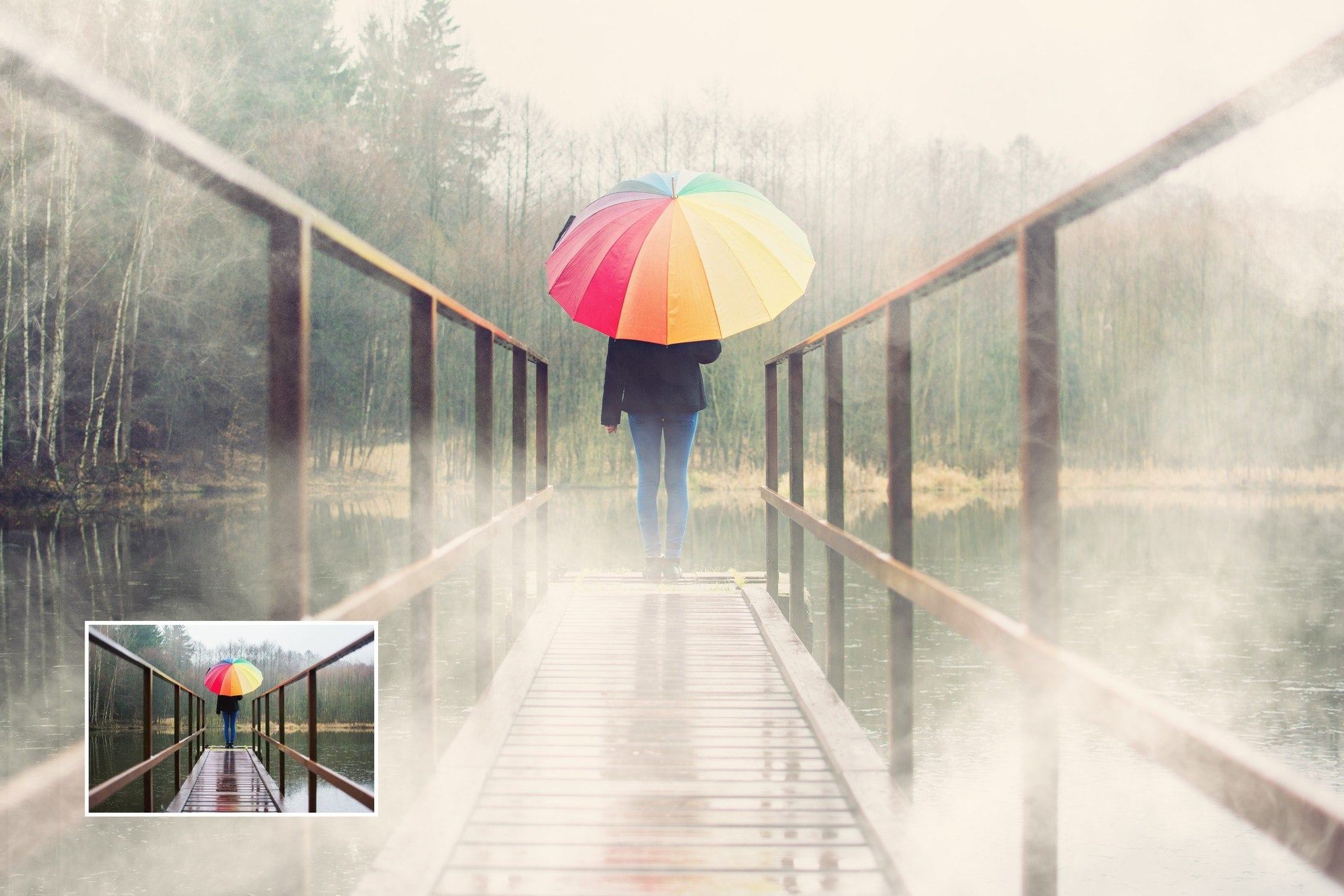 how to create fog in photoshop