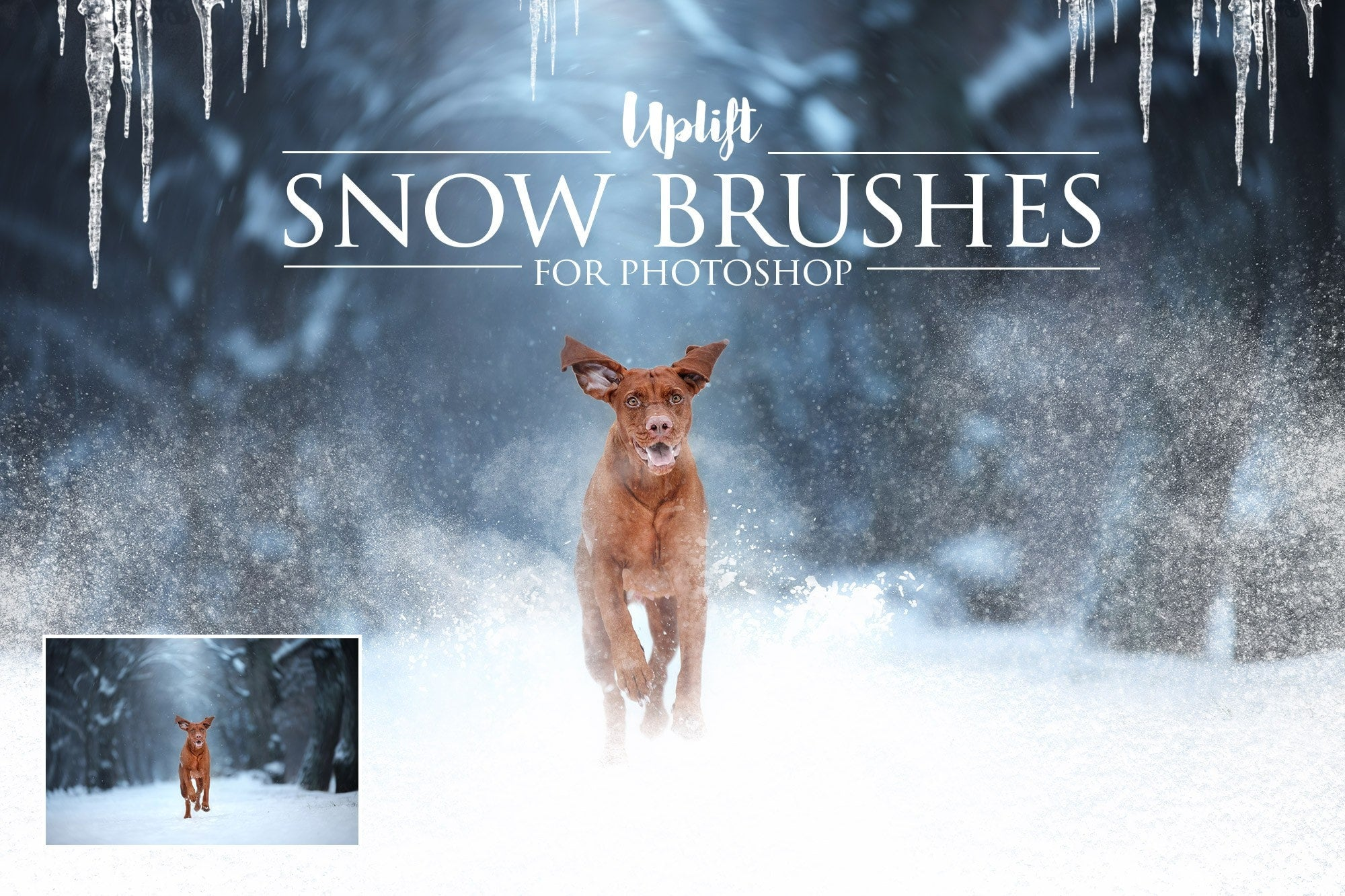 How to Create Snow in Photoshop - PHLEARN
