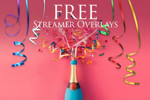 Streamer Overlays: FREE - Uplift Photoshop Actions, Photoshop Overlays and Lightroom Presets