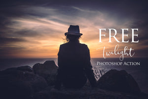 Twilight Photoshop Action: FREE - Uplift Photoshop Actions, Photoshop Overlays and Lightroom Presets