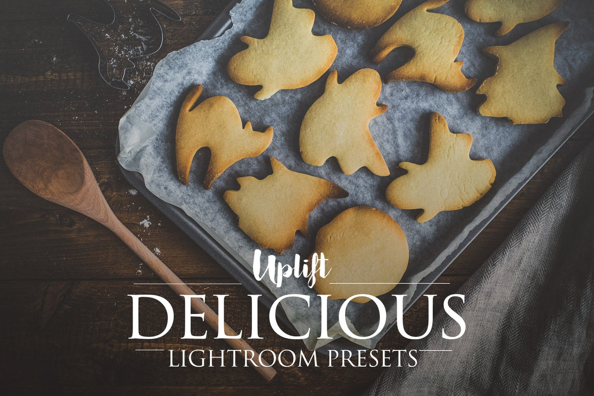 Delicious Collection for Lightroom - Uplift Photoshop Actions, Photoshop Overlays and Lightroom Presets
