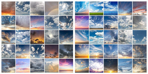 Epic Skies Cloud Overlays • 50% OFF! - Uplift Photoshop Actions, Photoshop Overlays and Lightroom Presets