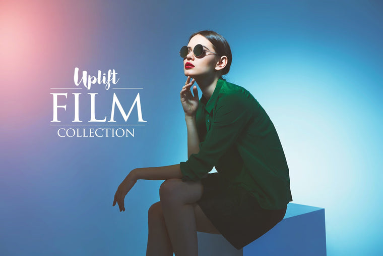 Uplift FILM Collection - Uplift Photoshop Actions, Photoshop Overlays and Lightroom Presets