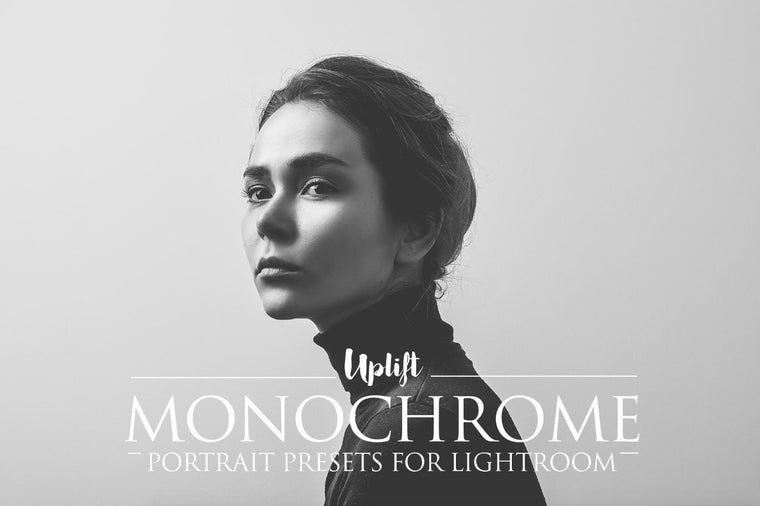 Monochrome Portrait Presets for Lightroom