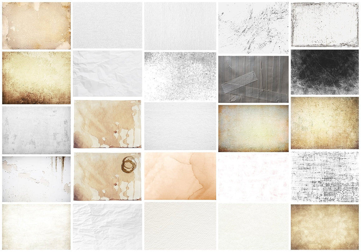 50 DISTRESSED Texture Overlays